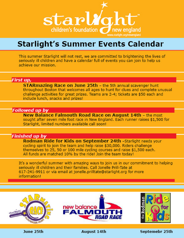 Summer Events 2