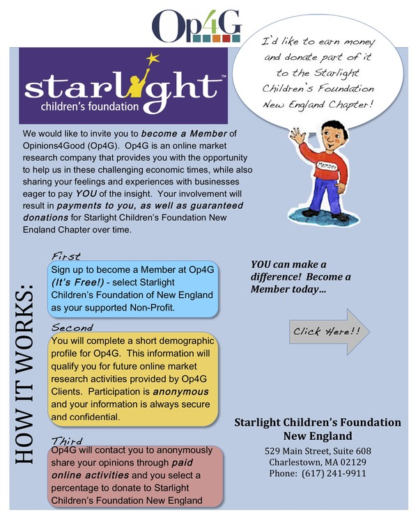 Starlight Children's Foundation 2